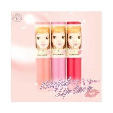 Etude house Lip Kissful Care Lip Balm (01 Peach)