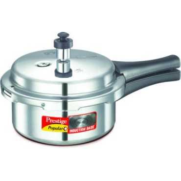 Prestige 10200 Aluminium 2 L Pressure Cooker Induction Bottom Outer Lid