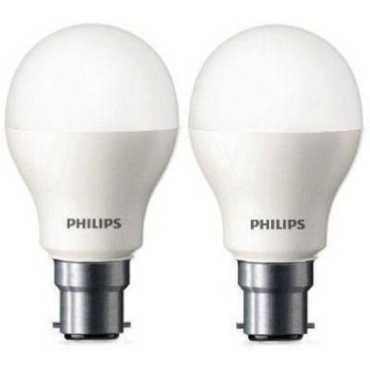 Philips 9W Standard B22 825L LED Bulb (White,Pack of 2) - White