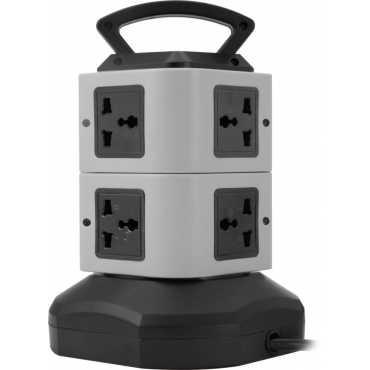 Zebronics TS102 6 Strip Surge Protector (2 Mtrs) - Grey