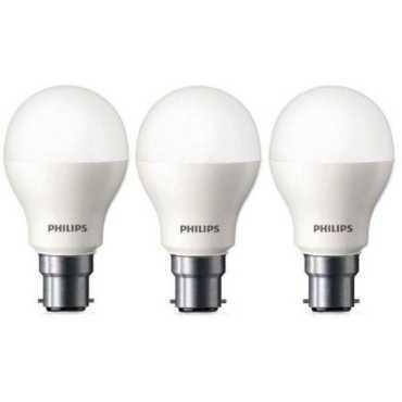 Philips 9W Standard B22 825L LED Bulb White Pack of 3