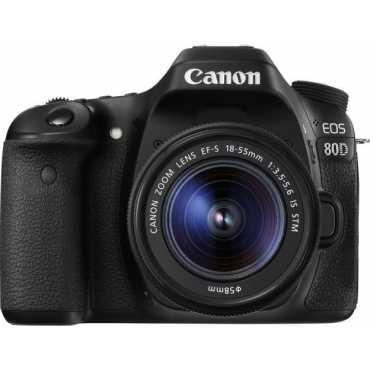 Canon EOS 80D DSLR Camera EF-S 18-55mm f 3 5-f 5 6 IS STM Kit Lens