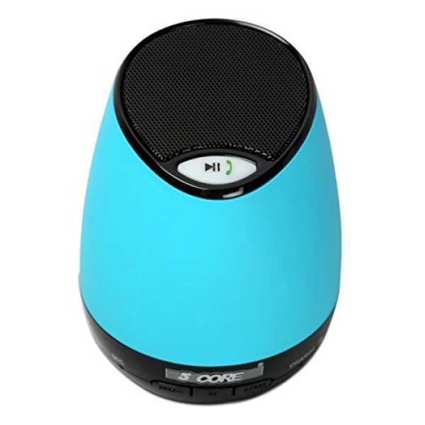 5 Core LBT-01 Portable Bluetooth Speaker - Blue