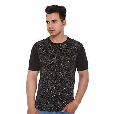 Shaun Men's Cotton T-Shirt (104MPrtd1_K_Black_Small)