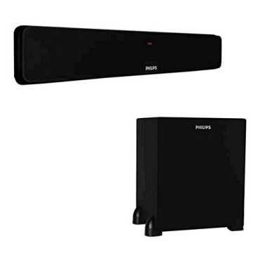 Philips DSP 475 Sound Bar Speakers - Black