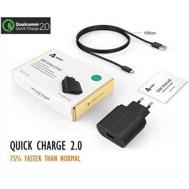 Aukey PA-U28 (18W) USB Turbo Wall Charger - Black | White