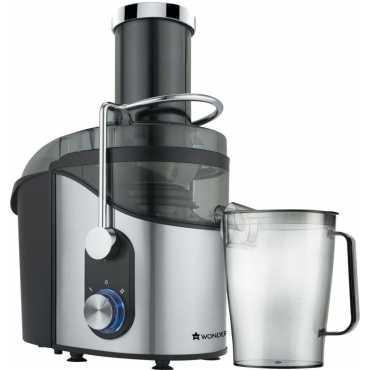 Wonderchef Monarch 800W Fruit Juicer - Black | Silver