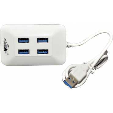 Ad-net AD-81F 4 Port USB Hub - White
