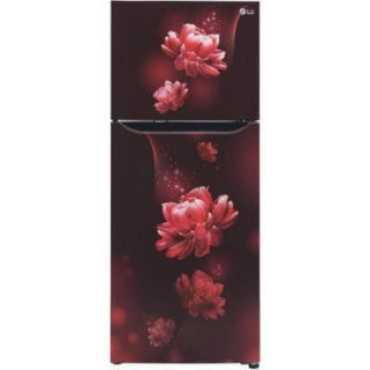 LG GL-T292SSC3 260 L 3 Star Inverter Frost Free Double Door Refrigerator