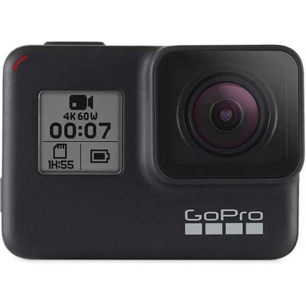 GoPro (Hero 7) 4K Sports & Action Camera - Black