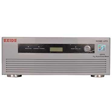 Exide Premium Pure Sine Wave EX650VA Inverter - Silver | White