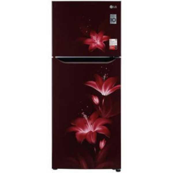 LG GL-N292BRGY 260 L 2 Star Inverter Frost Free Double Door Refrigerator