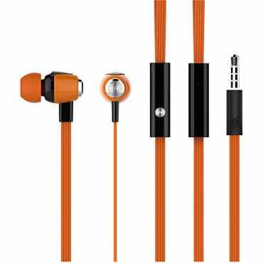 Syska H-008 In Ear Wired Headset - Black | White