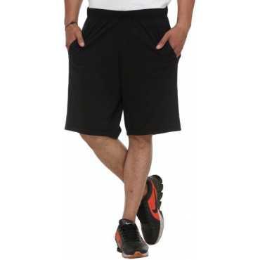 Vimal Solid Men s Multicolor Bermuda Shorts