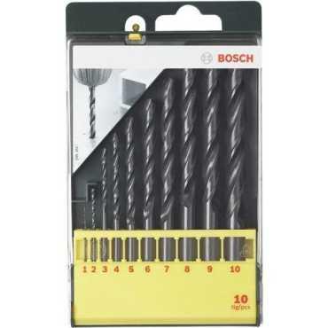 Bosch 2607019442 Metal Drill Bit Set (10 Pc)