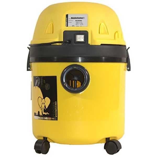 Rodak Car Special 4 20L Wet and Dry Vacuum Cleaner - Yellow