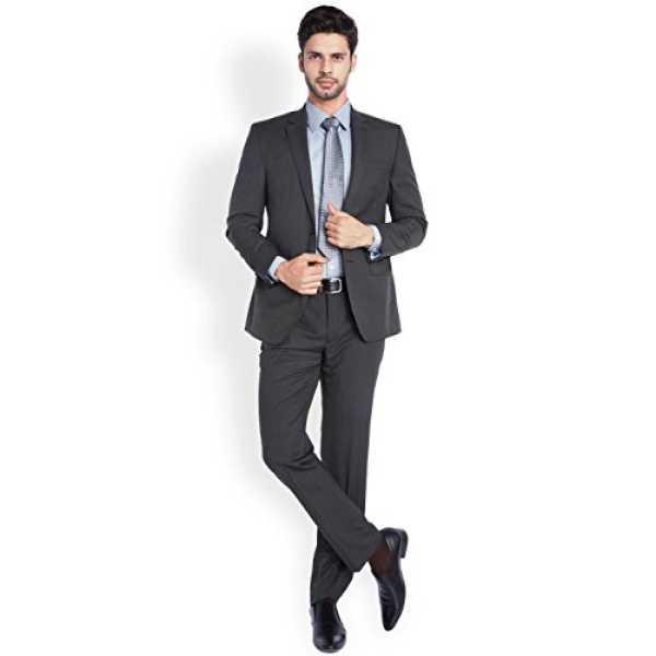 Men s Suit Trousers 8907253048365_PMDF02899-K7_92_Black