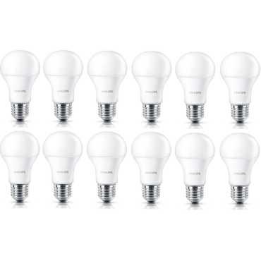 Philips Stellar Bright 7W E27 LED Bulbs Pack of 12 Warm White