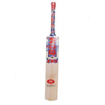 BDM Pro Kashmir Willow Cricket Bat (Short Handle)