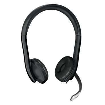 Microsoft Life Chat LX-6000 On-Ear Headset - Black