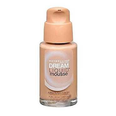 Maybelline Dream Mousse Liquid Foundation (Pure Beige 2 Medium)