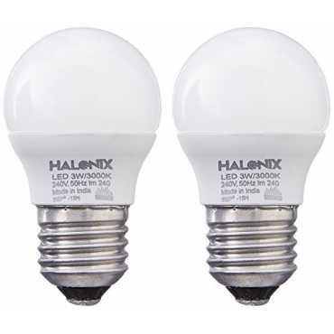Halonix 3W Yellow LED Bulb Pack of 2