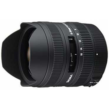 Sigma 8-16mm f/4.5-5.6 DC Zoom Lens (For Pentax DSLR) - Black