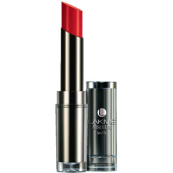 Lakme  Absolute Sculpt Studio Hi-definition Matte Lipstick (Red Rush)