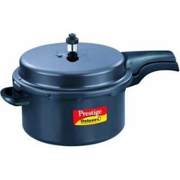 Prestige Deluxe Plus Aluminium 7.5 L Pressure Cooker (Outer Lid)