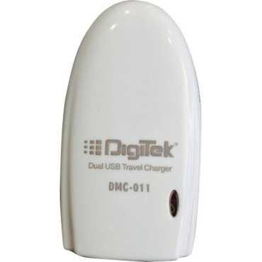 Digitek DMC-011 Dual USB Travel Charger - White