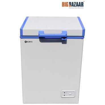 Koryo KCH100BG 100 L Direct Cool Single Door Freezer