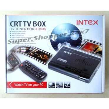 Intex IT 163S CRT TV Tuner - Black