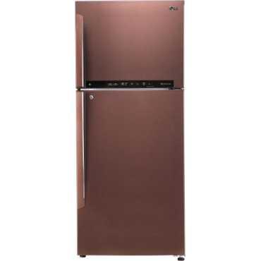 LG GL-T432FASN 445 L 4 Star Inverter Frost Free Double Door Refrigerator - Steel