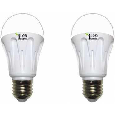 Imperial 10W 3574 E27 LED Premium Bulb (White, Pack of 2) - White