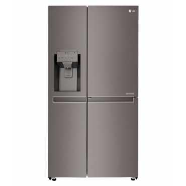 LG GC-J247CKAV 668 Ltr Door in Door Refrigerator - Black