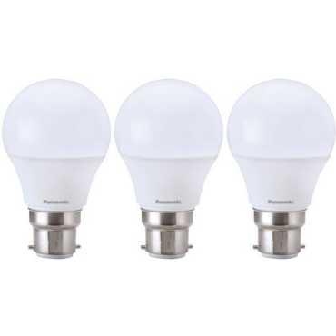 Panasonic 9W B22 LED Bulb (White, Pack of 3) - White
