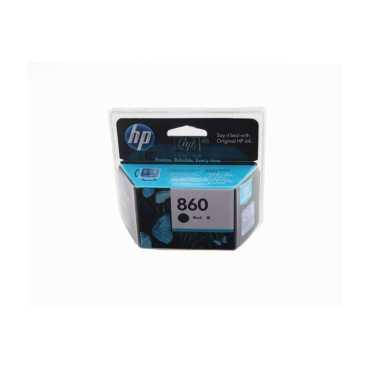 HP 860 Black Ink Cartridge - Black