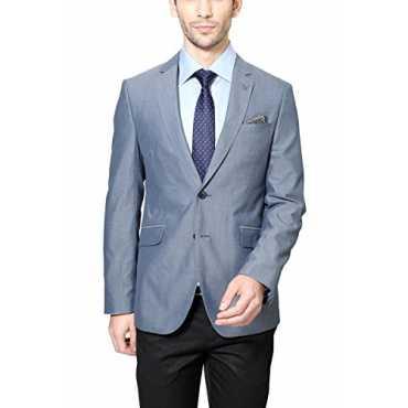Van Heusen Men Ultra Slim Fit Blazer_VHBZ315M05004_38_Grey