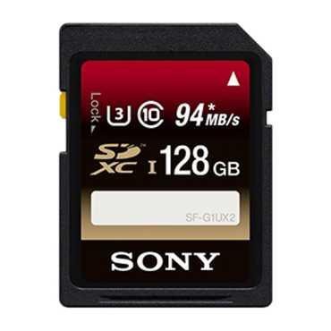 Sony SF-G1UX2 128GB SDXC Class 10 Memory Card