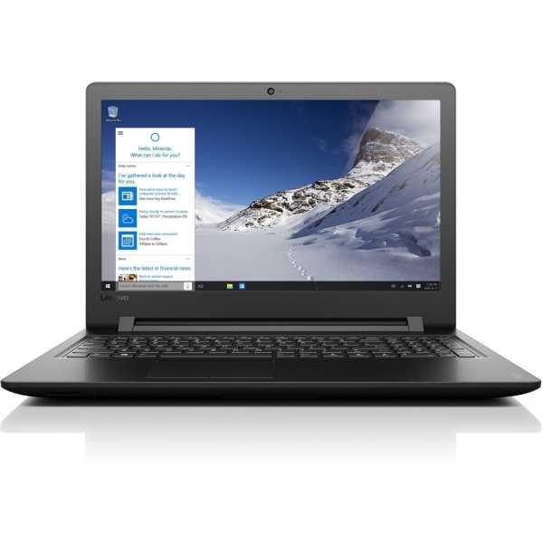 Lenovo Ideapad 110 (80UD0146IH) Notebook - Black