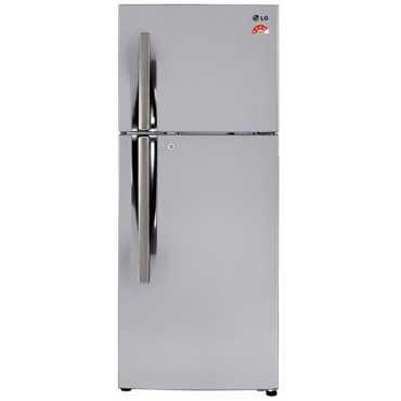 LG GL-T292RPZM 260 Litre Double Door Refrigerator - Steel