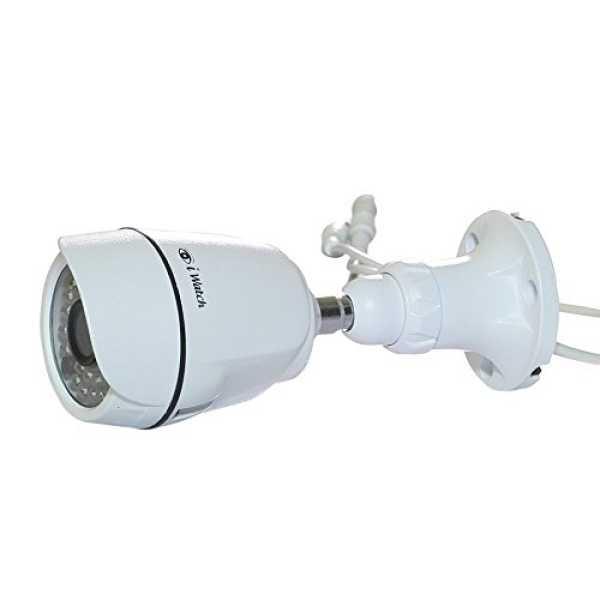 IWATCH IWD-2165 Bullet CCTV Camera - White