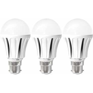 United 12W E27/B22 LED Bulb (White) [Pack of 3] - White