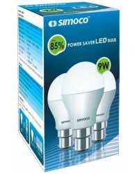 Simoco 9W B22 LED Bulb (White) - White