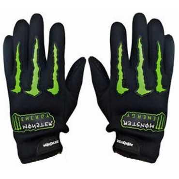 Monster Full Finger Bike Driving Gloves XL