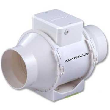 Amaryllis Sigma (4 Inch) Exhaust Fan - White