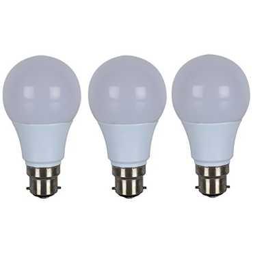 Eon 7W B22 LED Bulb (Warm White,  Pack Of 3) - White