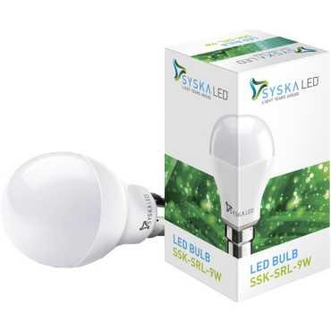 Syska 9 W LED 6500K Cool Day Light Bulb - White