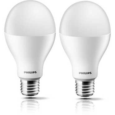 Philips Steller Bright  20W  E27 Standard LED Bulb (White, Pack of 2) - White