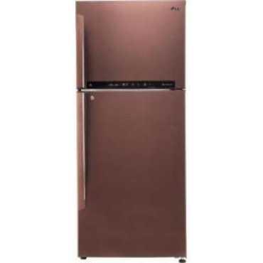 LG GL-T432FASN 437 L 4 Star Inverter Frost Free Double Door Refrigerator
